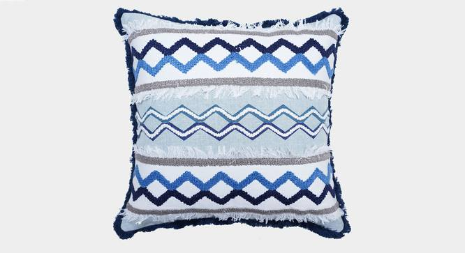 """Lincoln Cushion Cover (45 x 45 cm  (18"""" X 18"""") Cushion Size) by Urban Ladder - Front View Design 1 - 351100"""
