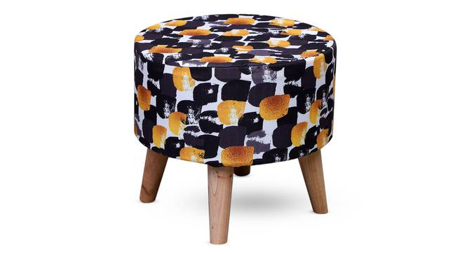 Comiso Foot Stool (Round Shape) by Urban Ladder - Front View Design 1 - 351212