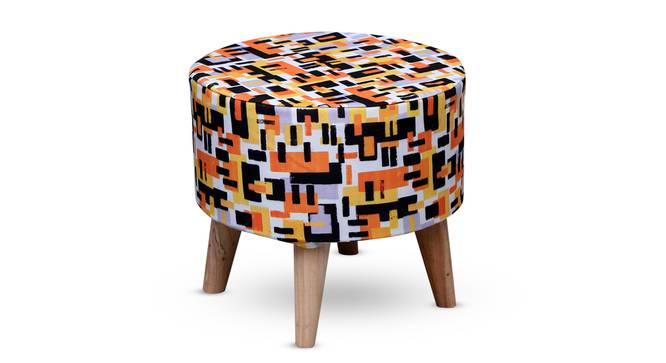 Enna Foot Stool (Round Shape) by Urban Ladder - Front View Design 1 - 351236
