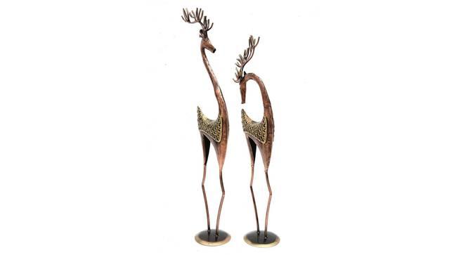 Addison Figurine (Copper) by Urban Ladder - Design 1 Side View - 351390