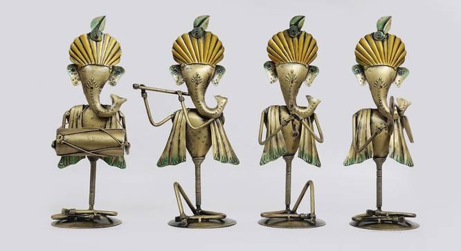 Caroline Figurine (Gold) by Urban Ladder - Front View Design 1 - 351502