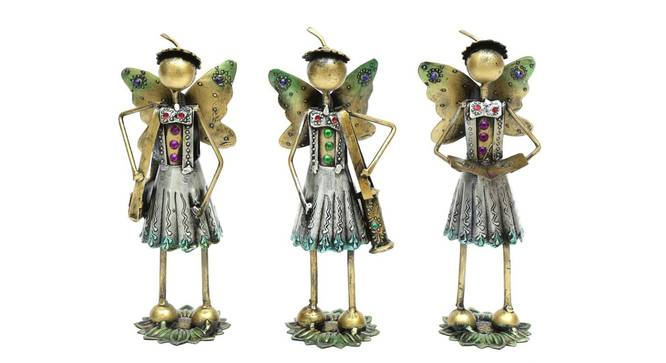 Leilani Figurine (Silver) by Urban Ladder - Front View Design 1 - 351697