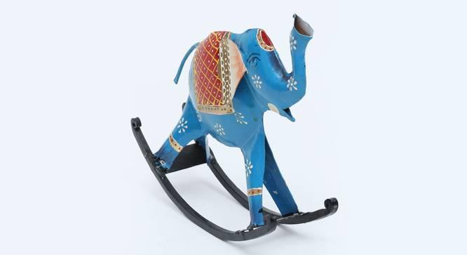 Nevaeh Figurine (Blue) by Urban Ladder - Cross View Design 1 - 351830