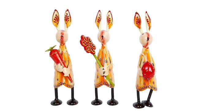 Sadie Figurine (Orange) by Urban Ladder - Design 1 Side View - 351884
