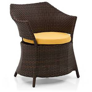 Calabah Patio Armchair (Brown) by Urban Ladder - Full View Design 1 - 352119