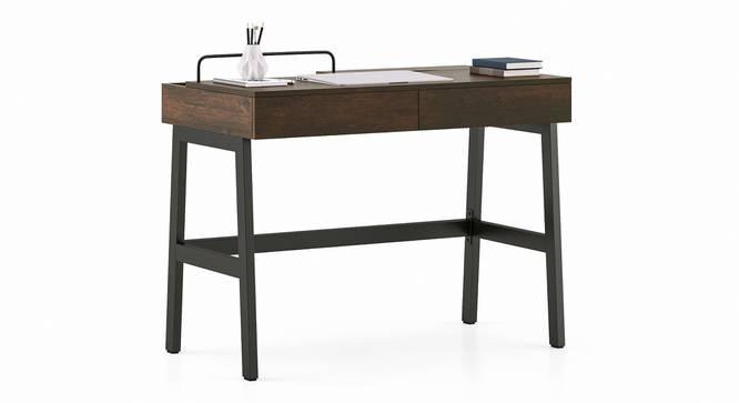 Jeremy Study Table (Walnut Finish) by Urban Ladder - Cross View Design 1 - 352174