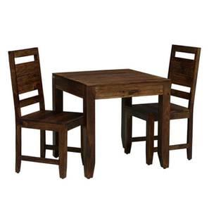 Alton 2 Seater Dining  Set (PROVINCIAL TEAK) by Urban Ladder - Design 1 - 352470