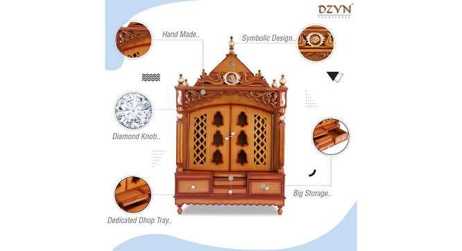 Ambuj Prayer Unit (Teak, Gloss Finish) by Urban Ladder - Cross View Design 1 - 352473