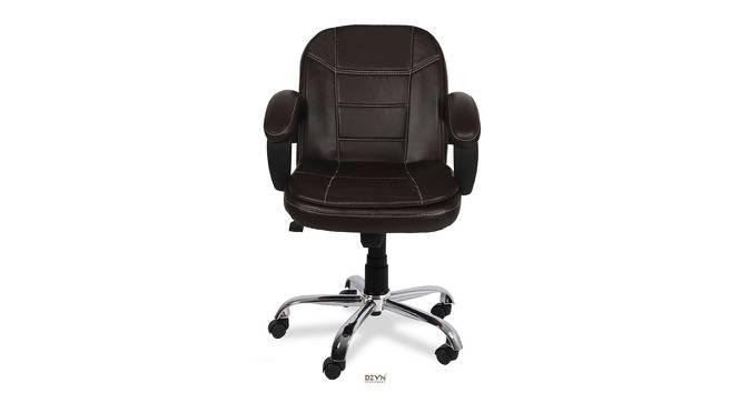 Averell Office Chair (Dark Brown) by Urban Ladder - -