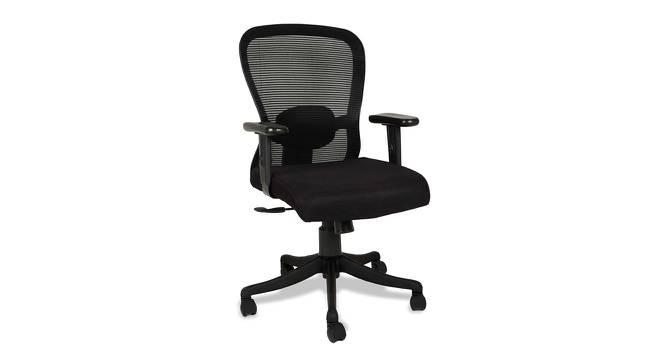 Burgandy Office Chair (Black) by Urban Ladder - -
