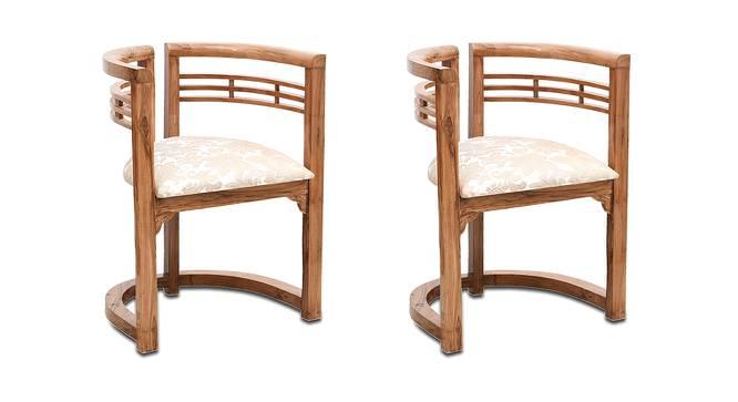 Daniel Bedroom Chair (Teak) by Urban Ladder - -