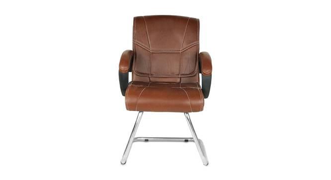 Edmundo Office Chair (Dark Brown) by Urban Ladder - -