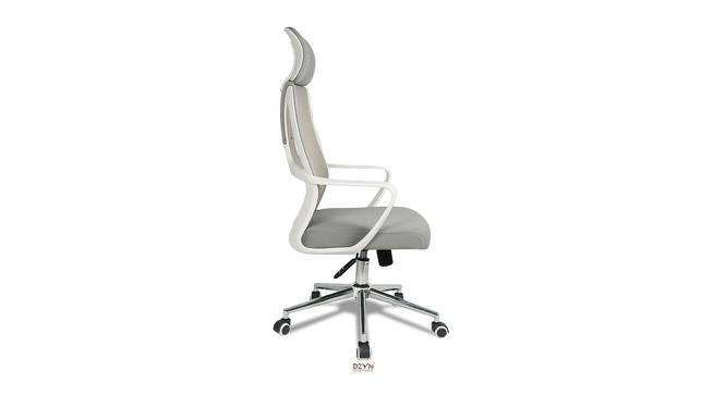 Ewing Office Chair (White Grey) by Urban Ladder - -