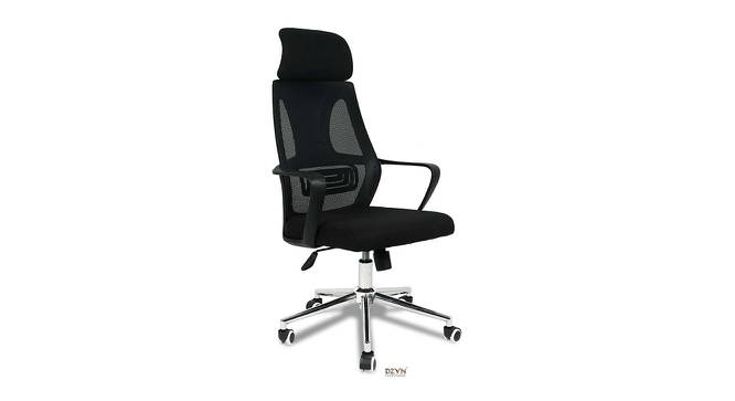 Faren Office Chair (Black) by Urban Ladder - -