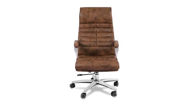Franz Office Chair (Premium Brown) by Urban Ladder - -