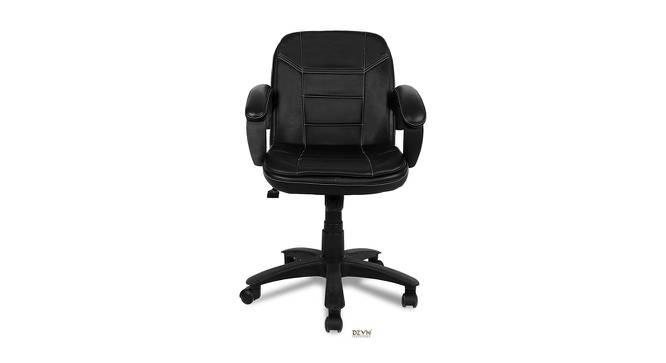 Gardell Office Chair (Black) by Urban Ladder - -