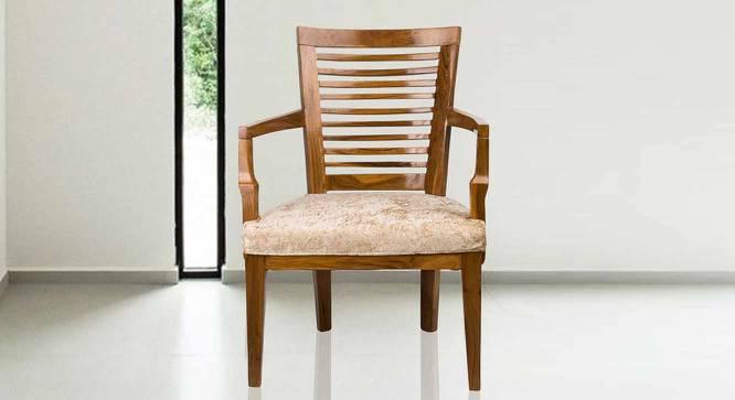 Gene Bedroom Chair (Teak) by Urban Ladder - -