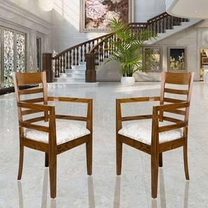 George Bedroom Chair (Teak) by Urban Ladder - -