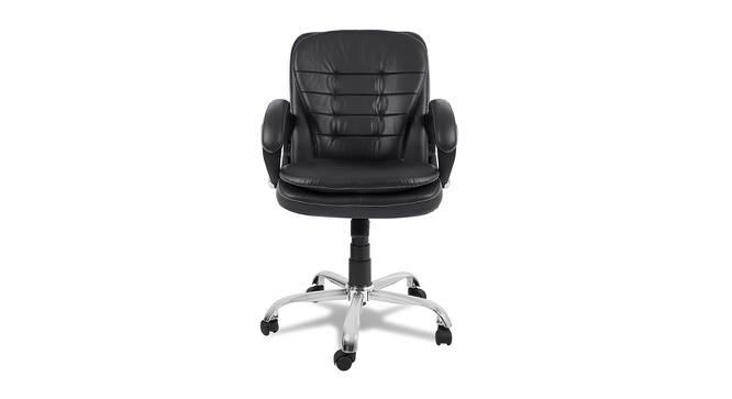 Gerardine Office Chair (Black) by Urban Ladder - -