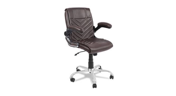 Haylea Office Chair (Dark Brown) by Urban Ladder - -