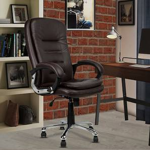 Jack Office Chair (Brown) by Urban Ladder - -