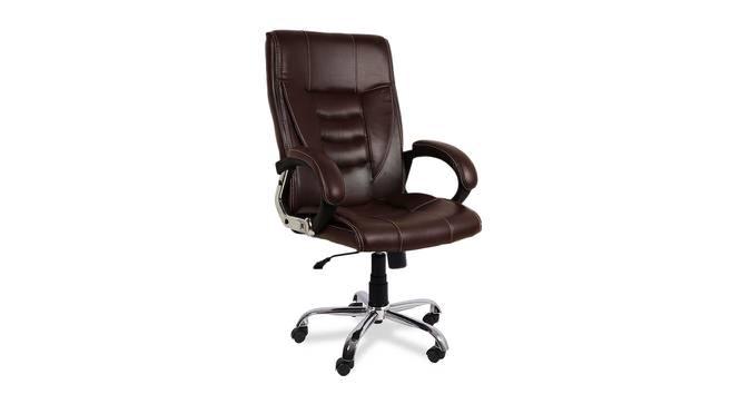 Kipling Office Chair (Dark Brown) by Urban Ladder - -