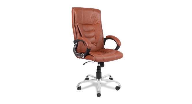 Kurt Office Chair (Light Brown) by Urban Ladder - -