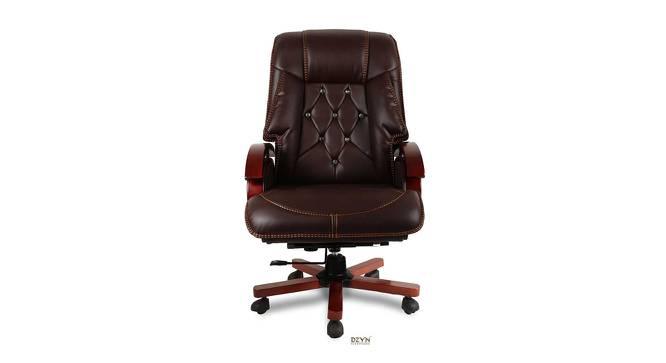 Loria Office Chair (Brown) by Urban Ladder - -