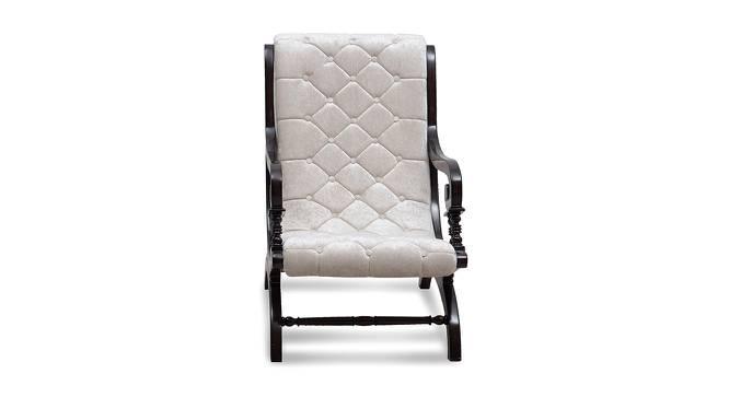 Martin Rocking Chair (Brown Silver) by Urban Ladder - -