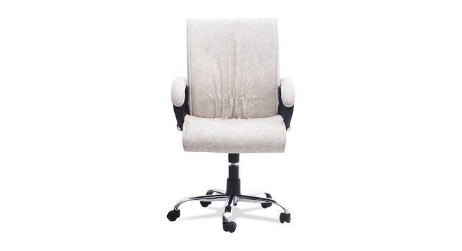 Milan Office Chair (Premium White) by Urban Ladder - -