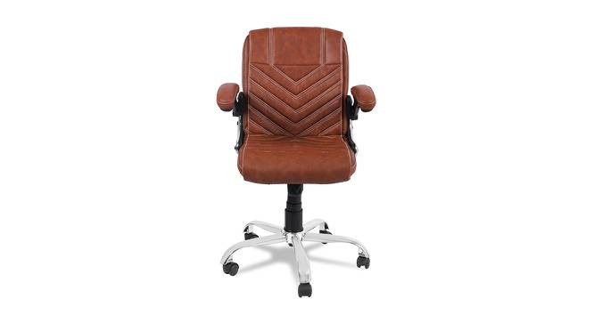 Nedra Office Chair (Light Brown) by Urban Ladder - -