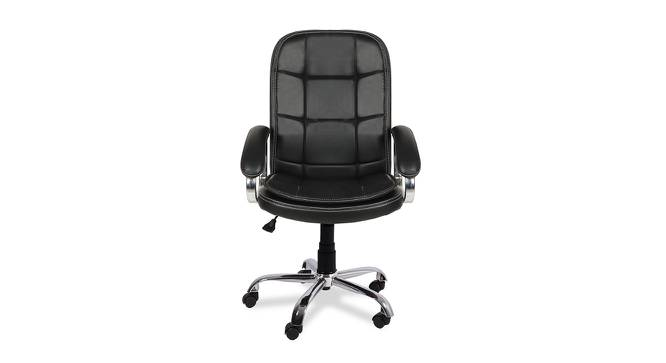 Norman Office Chair (Black) by Urban Ladder - -