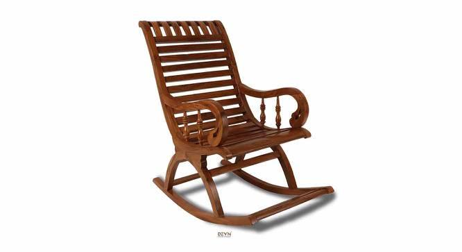 Paul Rocking Chair (Teak) by Urban Ladder - -