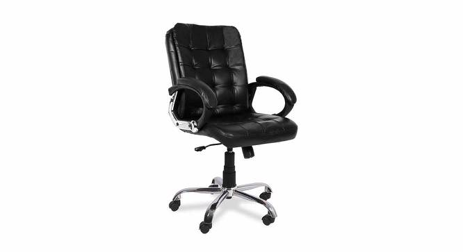 Pelham Office Chair (Black) by Urban Ladder - -
