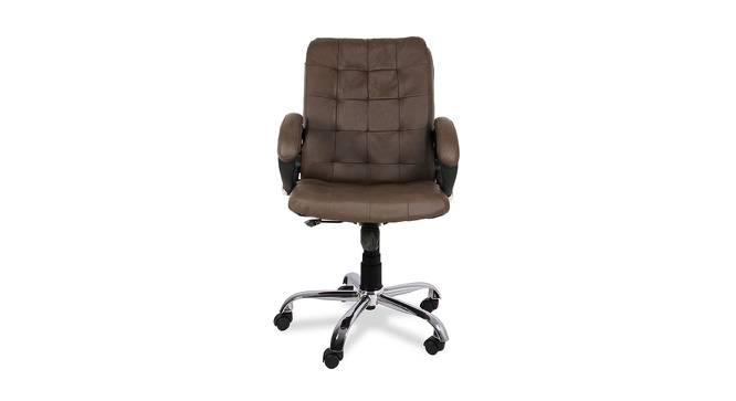 Philip Office Chair (Brown) by Urban Ladder - -