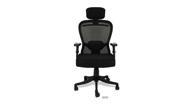 Prentice Office Chair (Black) by Urban Ladder - -