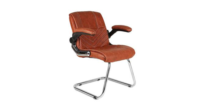 Presly Office Chair (Light Brown) by Urban Ladder - -