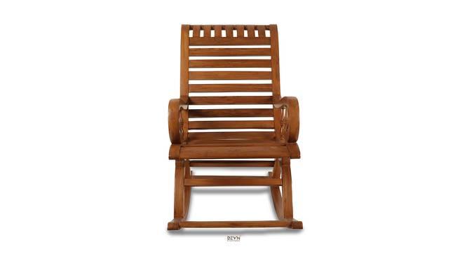Russell Rocking Chair (Teak) by Urban Ladder - -