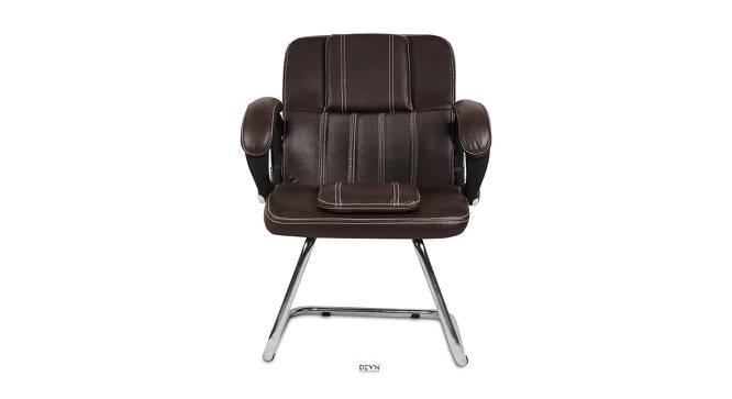 Saul Office Chair (Dark Brown) by Urban Ladder - -