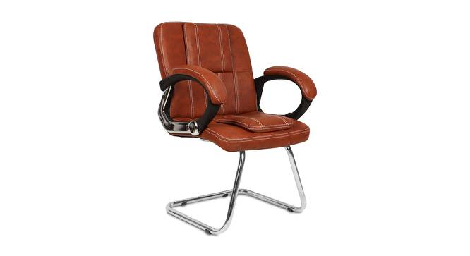 Scott Office Chair (Light Brown) by Urban Ladder - -