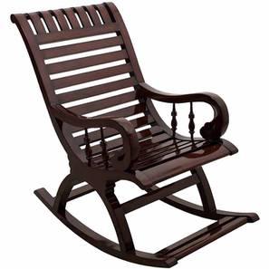 Sean Rocking Chair (Brown) by Urban Ladder - -