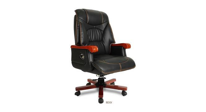 Shawnice Office Chair (Black) by Urban Ladder - -