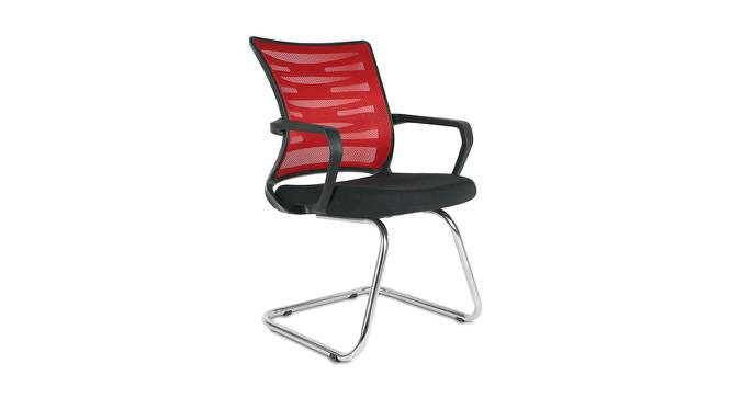 Shirlyn Office Chair (Red) by Urban Ladder - -