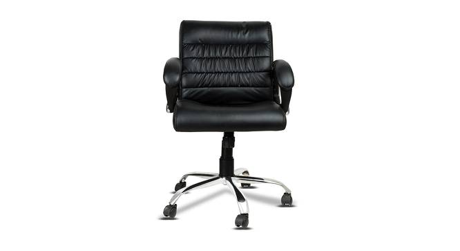 Wallace Office Chair (Black) by Urban Ladder - -