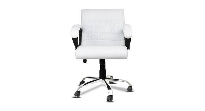 Washington Office Chair (White) by Urban Ladder - -