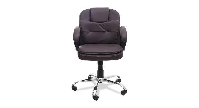 William Office Chair (Brown) by Urban Ladder - -