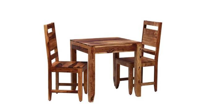 Baker 2 Seater Dining  Set (WARM WALNUT, WARM WALNUT Finish) by Urban Ladder - -