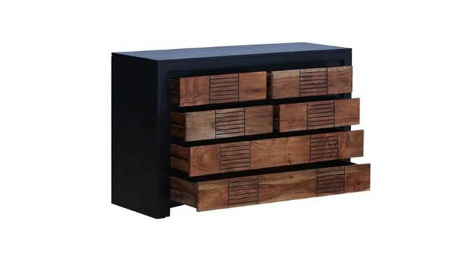 Olivia Chest Of Drawer (Matte Finish, DUAL TONE) by Urban Ladder - -