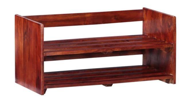 Ferretti Shoe Rack (HONEY, Matte Finish) by Urban Ladder - Cross View Design 1 - 354080