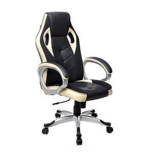 Ashle Gaming Chair (Cream / Black) by Urban Ladder - -